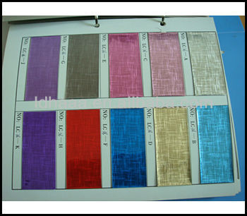 High Quality Transparent PVC holographic film for offset printing