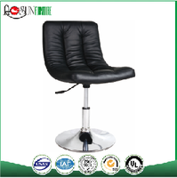 Bar Chair Specific Use and Leather & Iron Material Industrial vintage leather bar chair