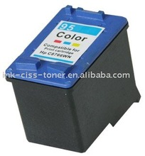 Refillable Ink Cartridge of HP95 / C8766WN for America version HP deskjet 9800/9800d/9860/HP5740/5740/5743/5745/5748/55940/558