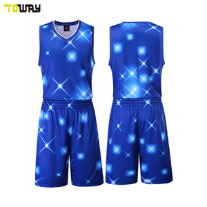 Printed Sublimation Basketball Jerseys Printed Sublimation