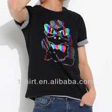 Black mens most popular t shirt colors