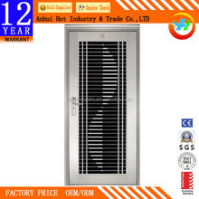 2016 cheap high quality fire-rated anti fire stainless steel door for sale