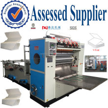 V-fold hand Towel kitchen Tissue Paper Converting Machine