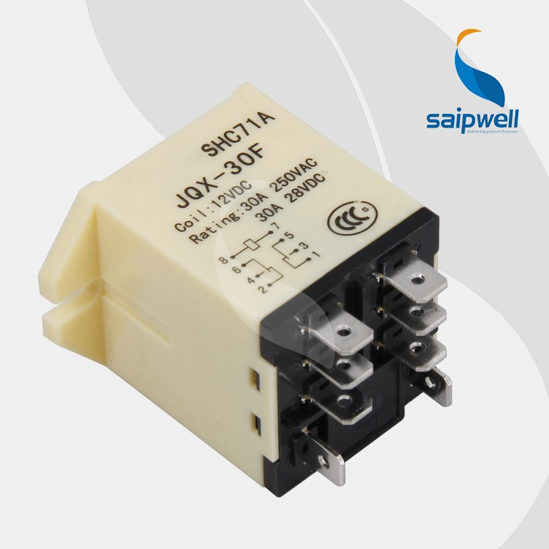 SAIPWELL/SAIP General Purpose Electrical Silver Alloy Contact Overload Relay