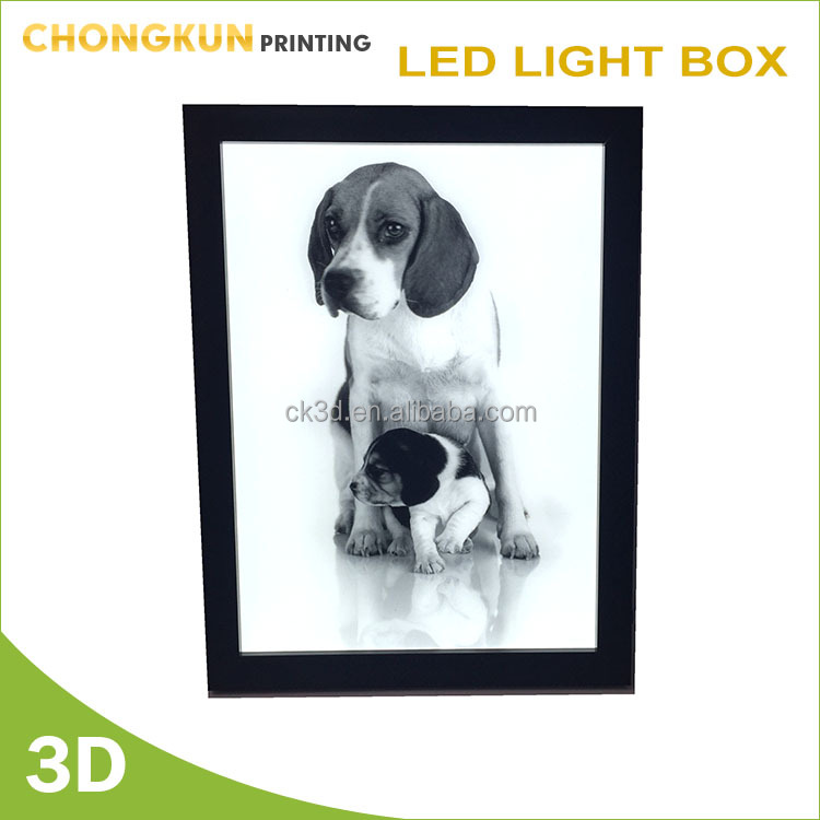 3D lenticular Cute dog/pets Picture for home decor