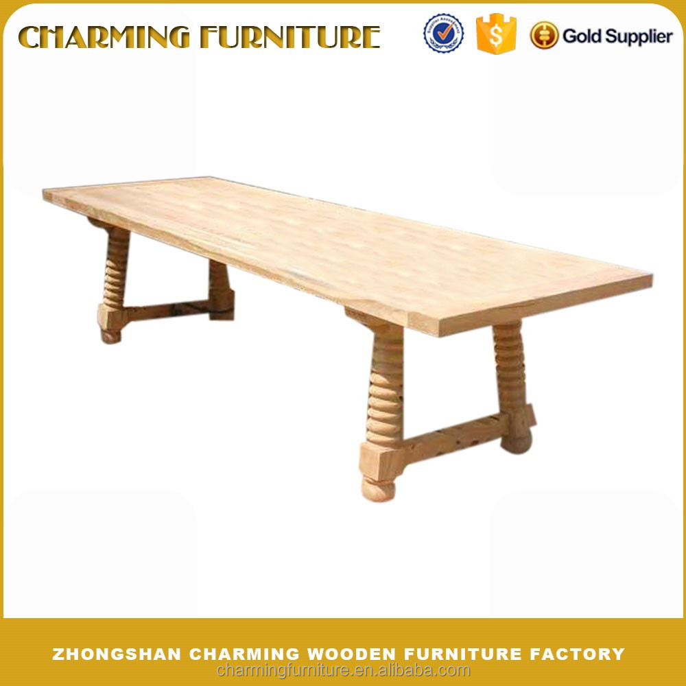Modern Solid Wood Dining Table Design for European Furniture #6321