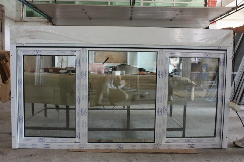 Pvc finestre e porte pvc telaio della finestra di vetro - Finestre stile americano ...