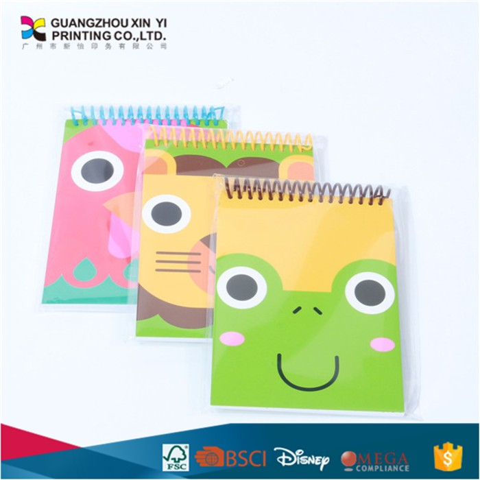 Wholesale A6 Cute Animal Printing Cartoon Mini Student Paper Notebook smart notebook