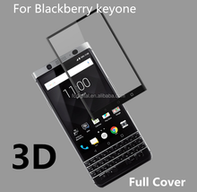 9H 3D Tempered Glass Screen Protector For blackberry keyone full coverage glass for keyone