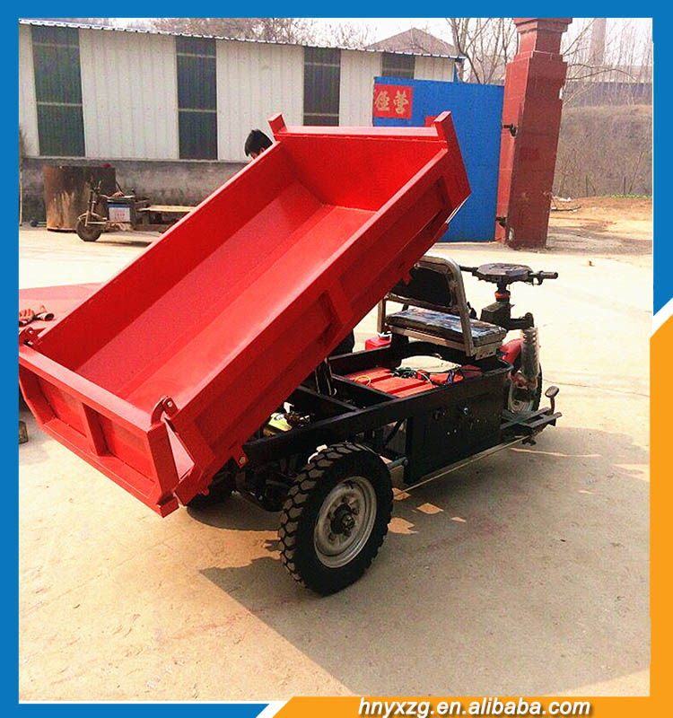 Wide application large capacity mini cargo adult electric tricycle