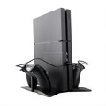 2017 NEW Storage stand vertical stand holder base for PS4 Pro and Slim 2 in 1