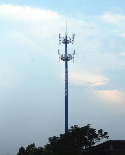 Gsm steel Antenna Telecommunication communication Monopole Tower