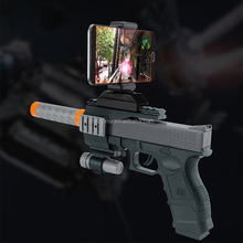 Reality Bluetooth Virtual Shooting Game Player Mobile phone controlled app smart game toy AR gun