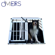 heavy duty pet aluminum welded wire mesh cage for dog