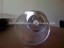 Large heavy wall clear 3.3 high borosilicate glass tube