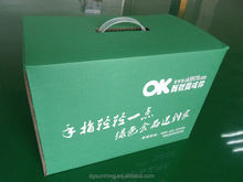 cardboard carrying box with handle