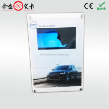 Acrylic tabletop brochure display,LCD screen video player,handmake video brochure
