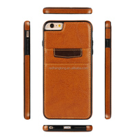 High quality leather phone case back cover shell for iphone 6s