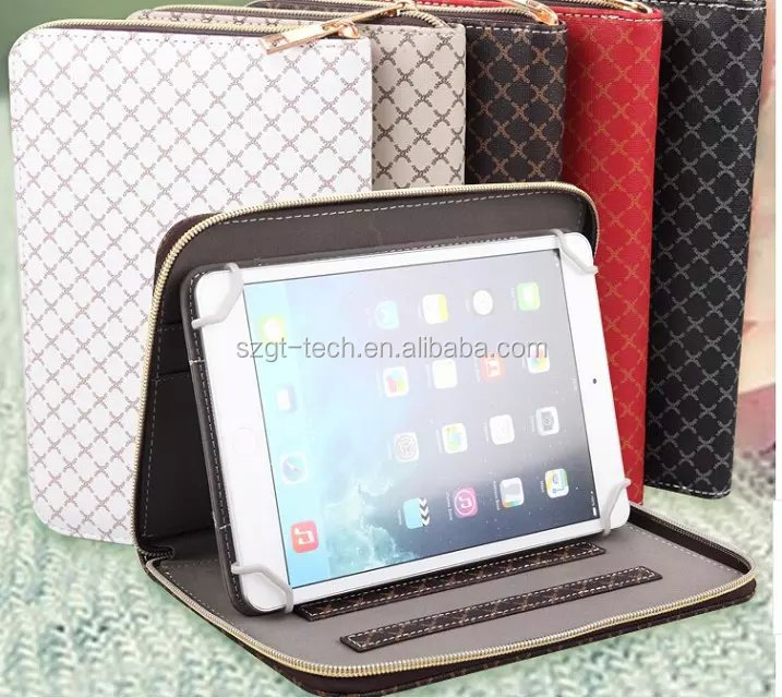 Waterproof hand carry bag for ipad air 2 case with bracket wallet card slot