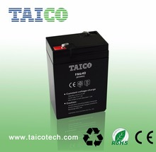 4Ah Rechargeable Lead Acid Agm Battery 6v 20hr