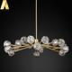 Wholesale big k9 luxury modern led lighting crystal chandelier for living room or hotel