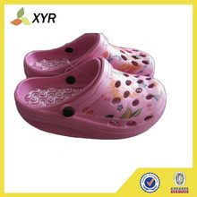 custom high quality outdoor garden kids plastic clogs