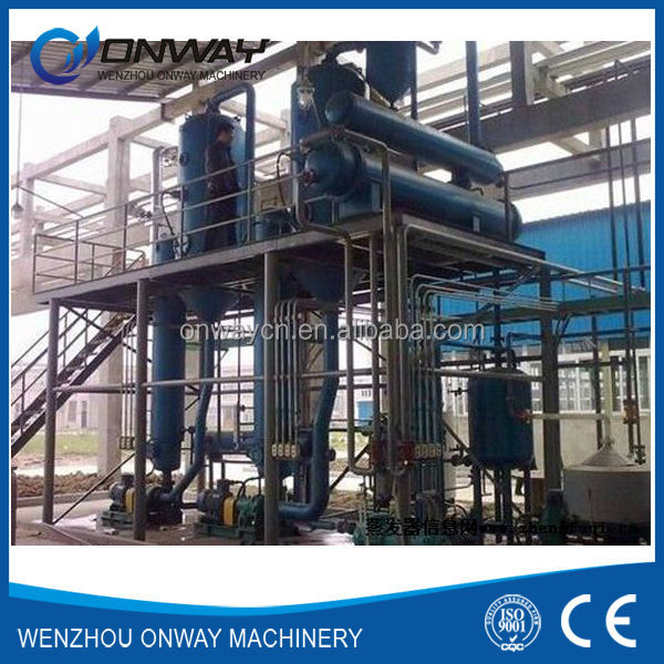 TFE high efficient factory price used engine oil recycling machine