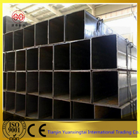 china supplier Q235 constrution building iron steel rectangular / square steel tube