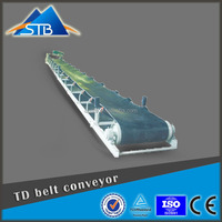 Rubber Hopper Interlock Conveyor Belt For Sale