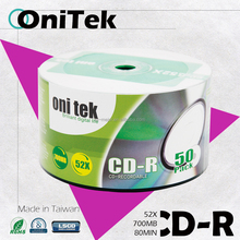 2017 New Premium Product OniTek blank CD-R 52X 700MB Free samples provided!