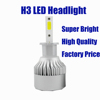 LED car lights H3 H1 H2 H4 H7 880 9005 9006 9007 led headlight 40W led headlight bulb