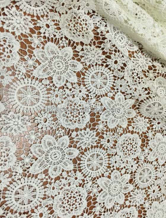 popular garment lace fabric 2016/embroidery fabric lace