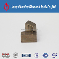 High Efficiency And Long Life Diamond Segment For Cutting Marble