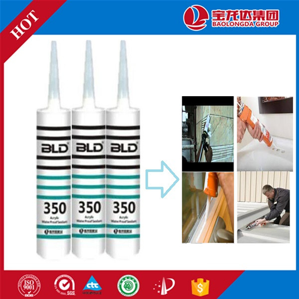 Silicone Metal Sealant or Acrylic Caulk to Fill Gaps BLD350