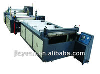 Plastic shoe counter extruders and adhesive film