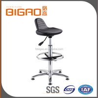 China Direct Manufacture High Quality Adjustable Pu Laboratory Equipment Steel Laboratory Stool chair for Dental