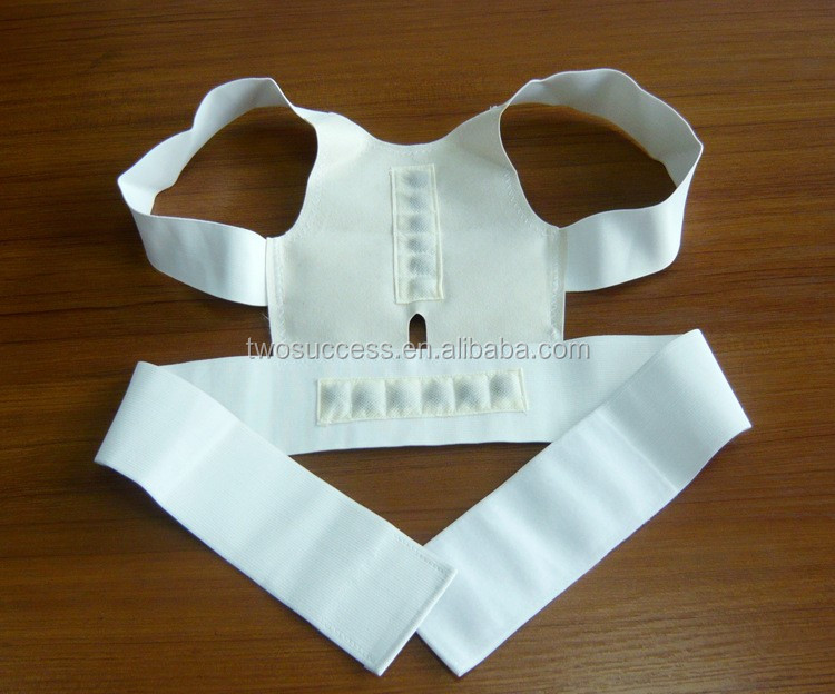 Wholesale Magnetic therapy posture support for men and women health care back brace posture support belt corrector