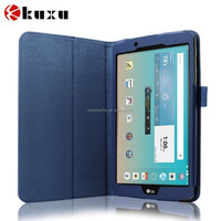 Newest high quality flip leather case for LG G Pad F 8.0 tablet