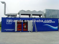 CE certified natural gas generator / silent gas generator / Sound proof natural gas generator