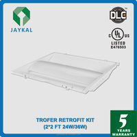 5 years warranty UL recessed led troffer DLC Troffer fixture