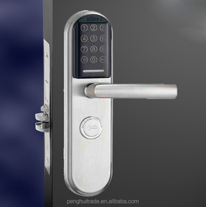 Touch screen Security apartment office electronic pin code password rfid safe lock