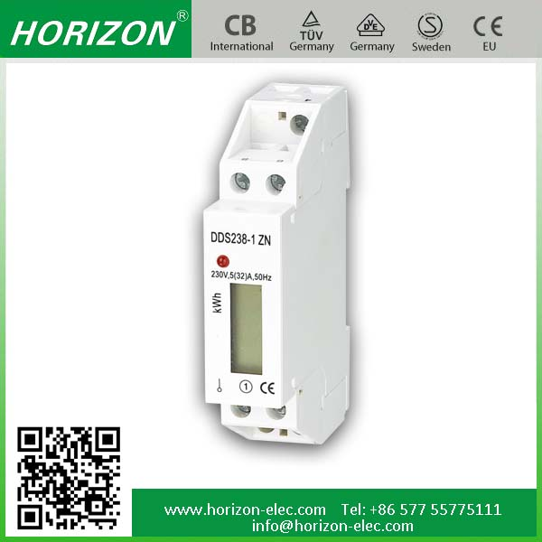 Multi-function Meter DDS238-1 ZN RS485 mudbus remote control single phase energy,current,voltage meter wireless power meter