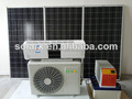 2014 Hot Sale New Product 100% Independant Hybrid Solar Air Conditioner, 3500W/1.5HP