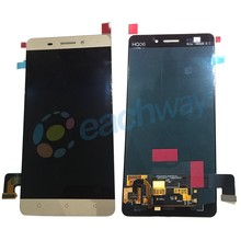 Golden/White color Original New Spare Parts Lcd screen for Gionee M5 Lcd touch Screen Display