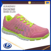 bright color national soft sport shoes women