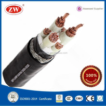 VV 3+1 Core 25mm Copper Underground Electrical Cable
