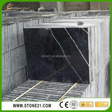 Hot Sell Black Marquina,Nero Marquina Marble,Black and white Marble