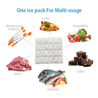 High quality ice pack cell 4 ply ice pack Big cell ice sheet