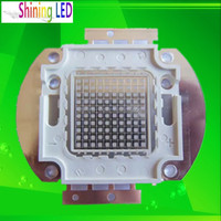 Ultra violet Diode Epileds Chip High Power Array 370nm 380nm 100w 365nm UV LED Curing System