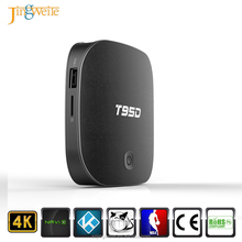 T95D Android 5.1 TV Box RK3229 Quad Core A7 1GB/8GB 2.4GHz WIFI KDplayer Set Top Box Media Player with LED Display